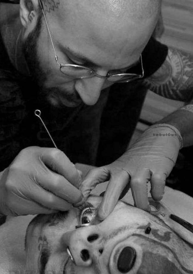 tatuar un ojo